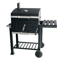 Di-Nesh Romeo Profi Smoker BBQ GRILLWAGEN Holzkohle Grill Grillkamin Barbecue