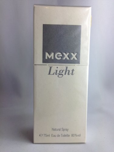 Mexx Scents Light woman 75ml EDT Natural Spray 1.Duft