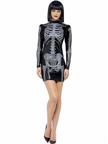 pvc skeleton dress 12-14