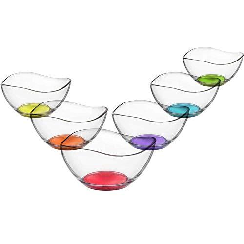 LAV - Vira - Juego 6 cuencos cristal - Para entrantes
