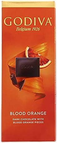 Godiva Blood Orange Belgian Dark Chocolate, 90g
