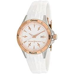 Uhr Cesare Paciotti Herren tsst060Armband Silikon Weiß