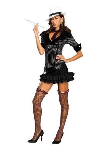 Für Erwachsenen Gangster Doll Kostüm - Rubie's Deutschland 2 889428 M - Gangster Doll Größe M