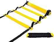 Songlela Scala per Allenamento, Calcio Esercizio velocità Formazione Training Ladder, Esercizi Agilità e veloc