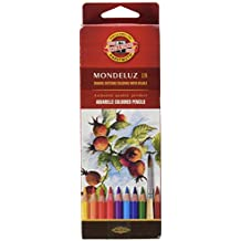 KOH-I-NOOR Mondeluz Fruit Aquarell Coloured Pencils (Set of 18)