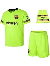 Personalizador Conjunto Completo Infantil FC Barcelona Réplica Oficial  Licenciado de la Segunda Equipación Temporada 2018- 6bf5b1bb0d9