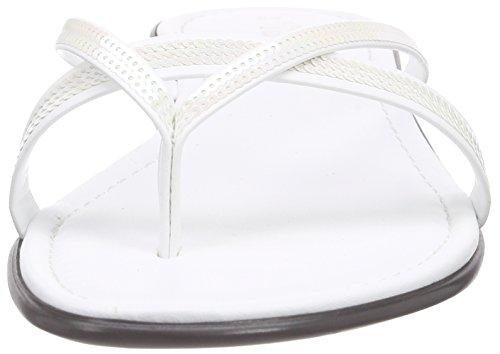Tamaris 27107 Damen Zehentrenner Weiß (White 100)
