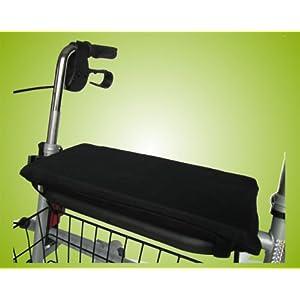 Sitzkissen für Rollator Rollatorkissen Rollatorsitzkissen Farbe: Schwarz *Top-Qualität zum Top-Preis*