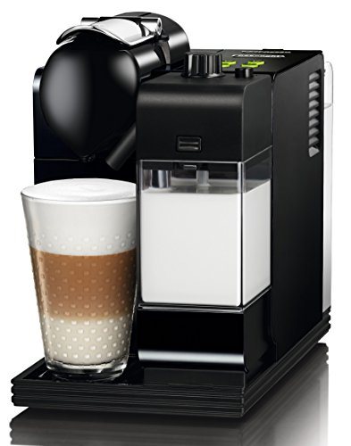 DeLonghi EN 520.B Nespresso Lattissima+ / Milchschaum-System / Magic Black