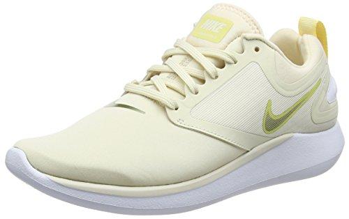 Nike Lunarsolo, Scarpe da Corsa Donna, Beige (Lt Cream/Mtlc Gold Star/Lemon 202), 39 EU