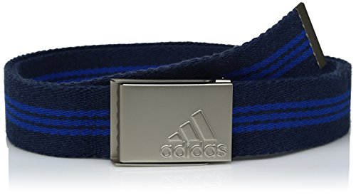 adidas Golf gestreift Gurtband Gürtel, Unisex, St Dark Slate Blast Blue F13 (Taylormade Golf-gürtel)