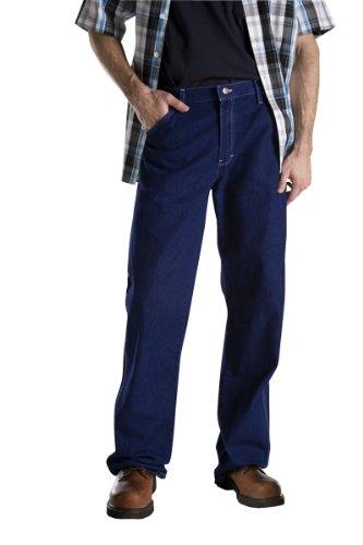 Dickies -  Jeans  - Uomo Blu indaco (WRINKLED TINT INDIGO BLUE) 50W x (Heavyweight Jeans)