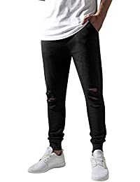 Urban Classics Herren Hose Cutted Terry Pants