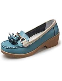 JRenok Chaussures Femme CompenséEs Respirantes Chaussures TêTe Ronde Loisir Gladiateur Pompes MèRe Plateforme Plate-Forme Chaussures