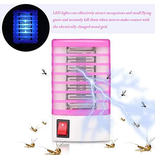 TAOtTAO LED-Steckdose Elektrische Moskito Fliegen Bug Insektenfalle Killer -