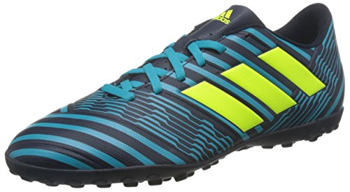 adidas Men's Nemeziz 74 Tf Footbal Shoes, Multicolor (Legend Ink /Solar Yellow/Energy...