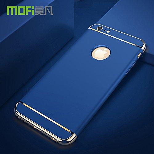 Meimeiwu Alta Qualità Ultra Sottile Leggera [Morbido tocco] Antiscivolo Duro PC Shell Slim Custodia Per iPhone 6 6S - Blu Blu