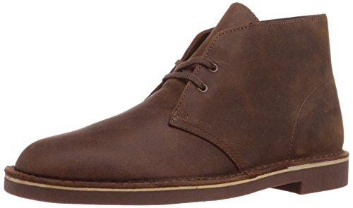 Clarks Bushacre 2 Hommes Marron Cuir Chaussures Bottes EU 41,5