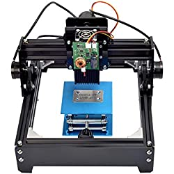 HOOMYA 15w Grabado portátil Arte del Arte del Arte DIY Grabador láser Impresora con Alta Velocidad, Vidrio Protector