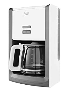 Beko CFM6151W Sense Filter Coffee Machine, 1000 W, White
