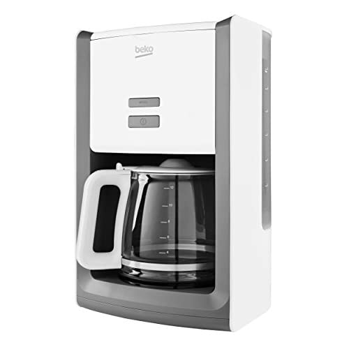 419m p94QPL. SS500  - Beko CFM6151W Aroma Sense Filter Coffee Machine - 1000w -  White [Energy Class A]