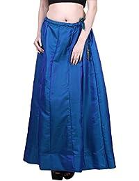 Shararat Stylish Designer Silk Flared Skirts Latest Design Long Skirt For Girls / Ladies / Women