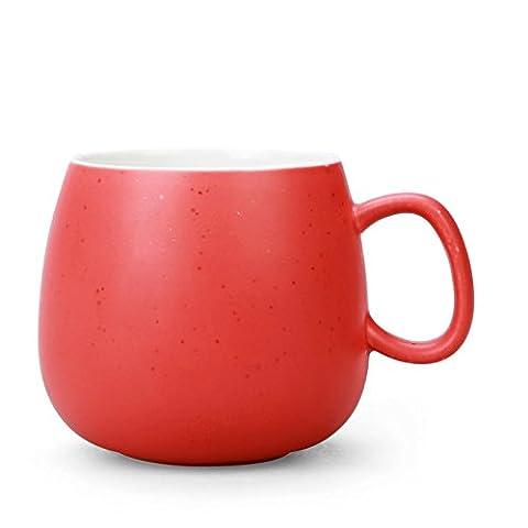 Sproud Tasse De Café Amants Tasse De Lait En Coupe,Red