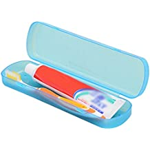 CAOLATOR Caja de Plástico Portátil Cepillo de Dientes para el Viaje Cepillo de Dientes Caja Antibacteriana