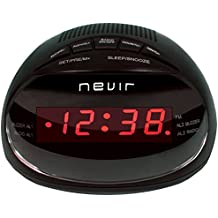 Nevir NVR-333DD - Radiodespertador