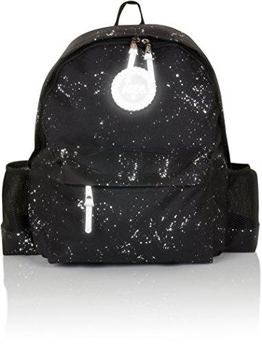 Hype Rucksack - Backpack Bag - Damen - Kinder - Verschiedene Designs Water Bottle Speckled Black/White