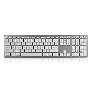 Ritual Bluetooth-Tastatur mit 104 Tasten für Laptop, Desktop-PC, Tablet