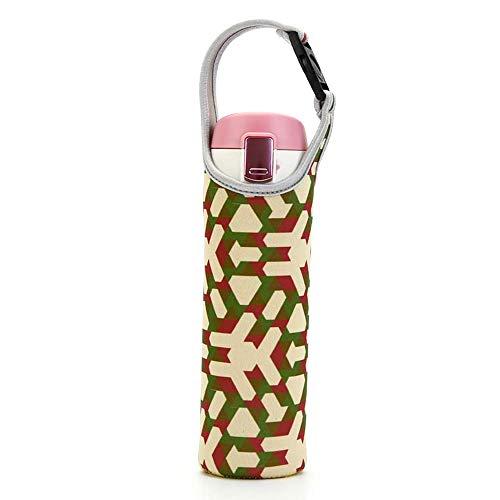 YIDADIAN Tumbler-Träger Halter Beutel mit Tragegriff Tragbare Wasserflaschen-Tragetasche für Edelstahl- oder Plastikflaschen Kaffeebecher 550ML