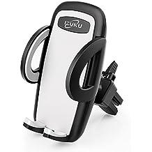 Handyhalterung Auto Kratzschutz 360°Drehbarem Gelenk [Lebenslange Garantie] IZUKU Handyhalter Auto Lüftungsgitter Universal Kompatibel für alle Smartphones mit einer Breite von 5,3cm bis 9,5cm