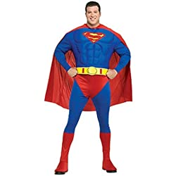 Rubie 's oficial Superman Deluxe Adult Costume Plus Size