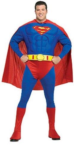 Rubie's Official Superman-Kostüm - Klassische Superman Kostüm
