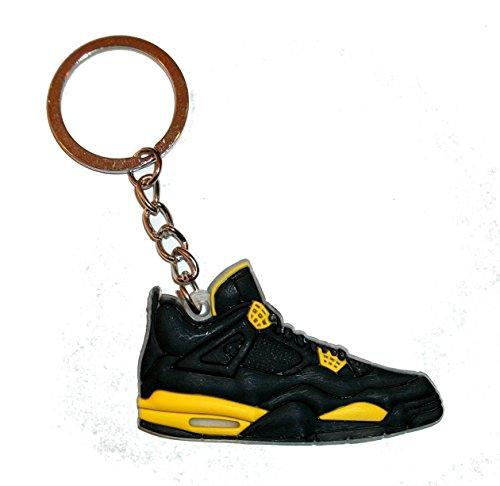 Preisvergleich Produktbild Nike Air Jordan 4 Thunder Schlüsselring/Schlüsselanhänger ...