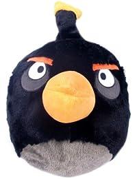 Black Angry Bird Plush Backpack - Angry Birds Kids Bag