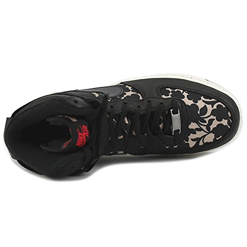Nike - WMNS Air Force 1HI LIB QS, Scarpe sportive Donna Rosa (Rosa (Vachetta Tan / Black))
