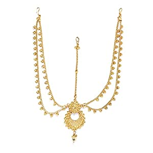 Zaveri Pearls Rajasthani Traditional Design Maangtika For Women - ZPFK5619