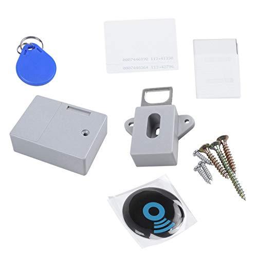 Xigeapg Invisible Oculto Rfid Apertura Libre Sensor Inteligente Gabinete Cerradura Armario Armario Zapato...