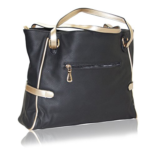 Handbag Krazy, Borsa tote donna Black