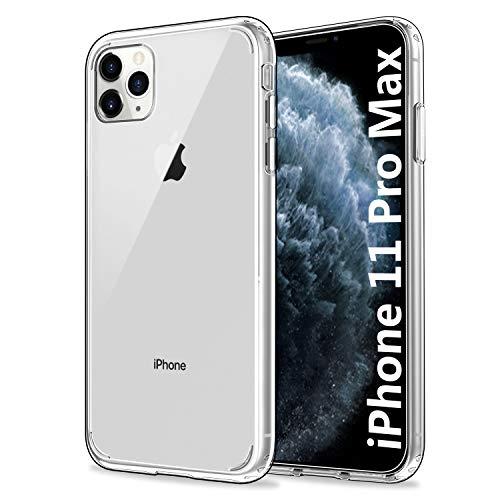 EasyAcc Custodia iPhone 11 Pro Max / iPhone XI Pro Max Cover, Chiara [Retro PC Rigido + Cornice TPU Morbido] Trasparente Case Compatibile con iPhone 11 Pro Max / iPhone XI Pro Max 6.5''