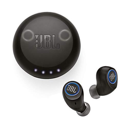 JBL Free X - Écouteurs Bluetooth sans fil - Kit mains-libres & micro intégré - Autonomie jusqu'à 24 hrs - Noir
