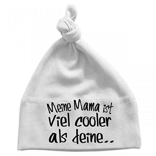 Mikalino Baby Mütze Meine Mama ist viel cooler als deine, Größe:0-6...