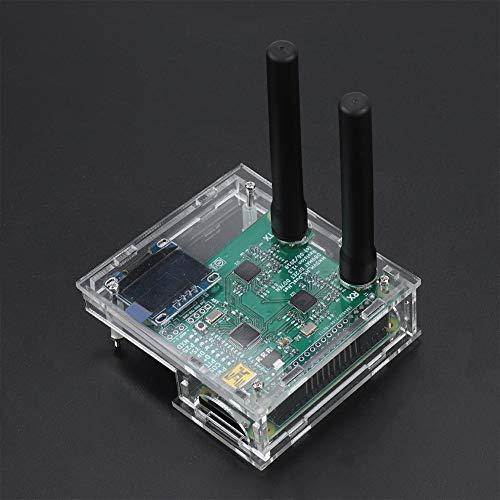 Eboxer USB Kit de Caja de Antena con Módulo Hotspot Dúplex con Screnn para  MMDVM Raspberry Pi DIY OLED(Transparente)