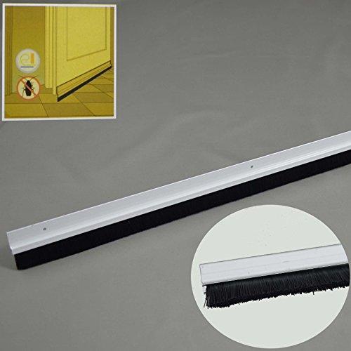 Türdichtung Aluminium Bürstendichtung Zugluftstopper Türbesen Türbodendichtung