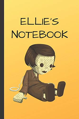 Ellie's Notebook: Doll  Writing 120 pages Notebook Journal -  Small Lined  (6