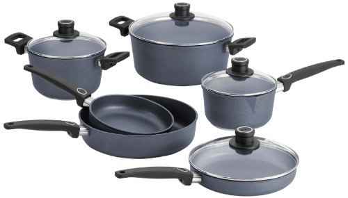 Woll Diamond Plus/Diamond Lite 10-Piece Cookware Set by Woll