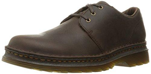 Dr.Martens Mens Hazeldon Kingdom Leather Shoes Marron