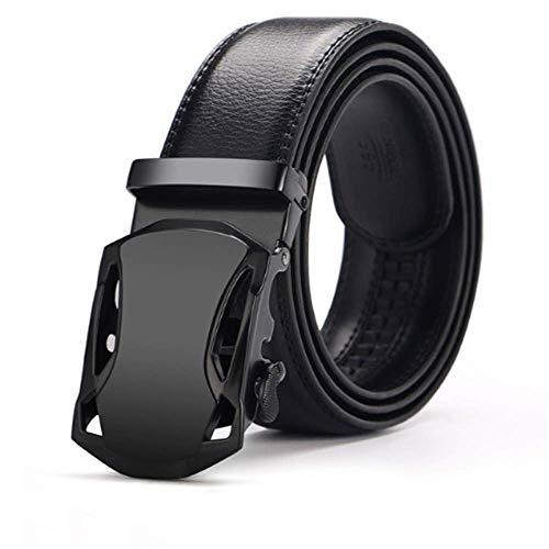 New Fashion Automatic Buckle Male Genuine Leather Strap Designer Belts Men Girdle Wide Gold Cummerbund-set